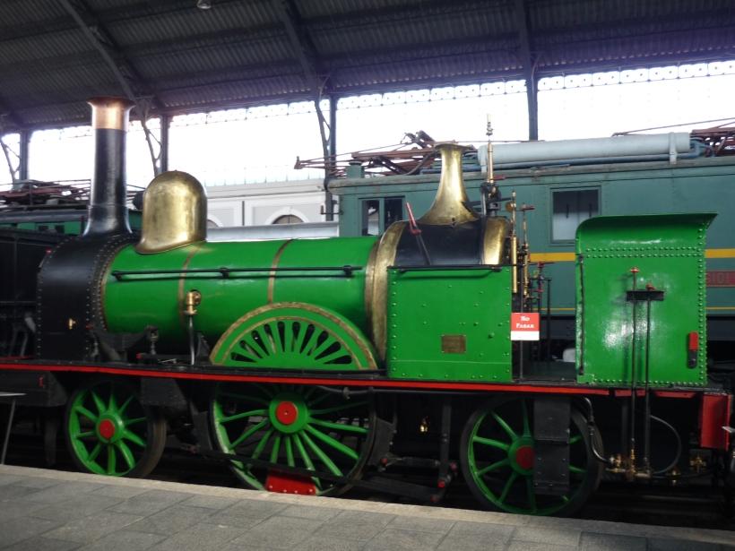 Locomotoras y trenes...