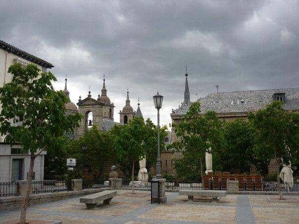 Plaza Mayor en un dia gris...