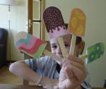 Estos son nuestros helados!