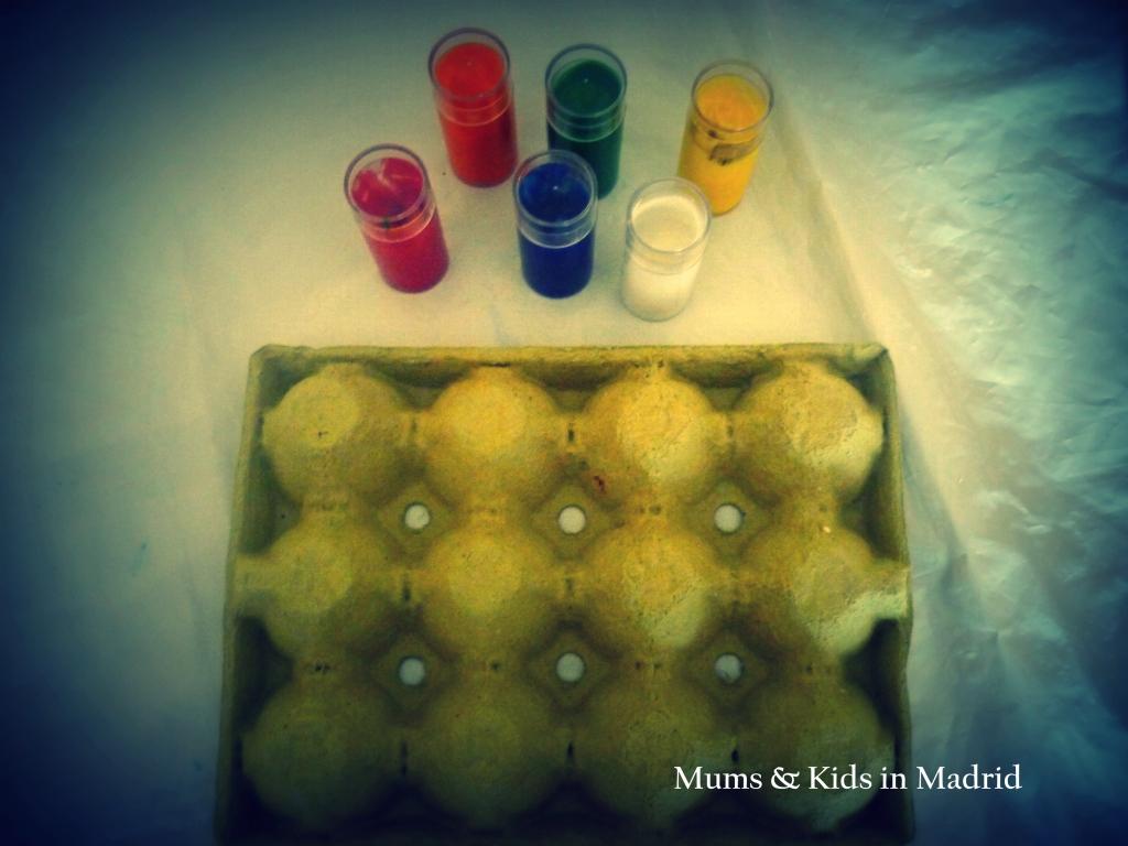 Ingredientes para preparar la medusa