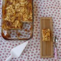 Pastel de manzana francés