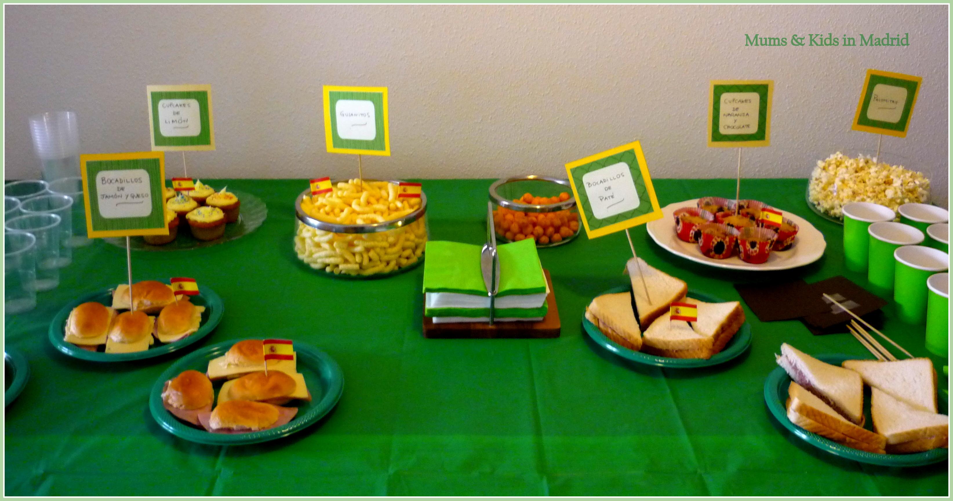 Ideas para decorar mesas de comida de una fiesta infantil - Fiestas infantiles ideas ...