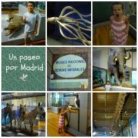 Visita al Museo de Ciencias Naturales de Madrid