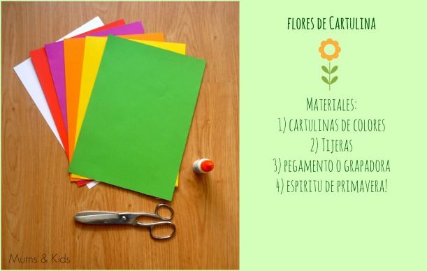 DIY - Flores de Cartulina