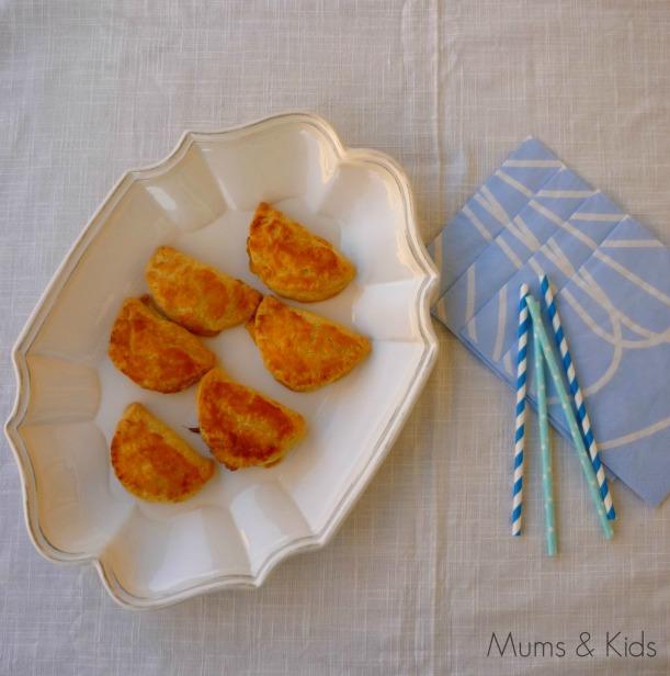 Mini Empanaditas de Queso Crema