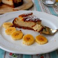 Tarta de Plátano fría