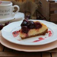 Cheesecake con Cerezas Picota de Jerte
