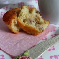 Muffins de Pera y Nueces Pecanas