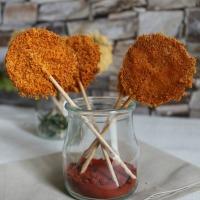 Piruletas de Parmesano - Reto #Asaltablogs